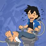 Ash's Tickling Torment