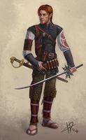 Fantasy character Donovan by IacopoDonati