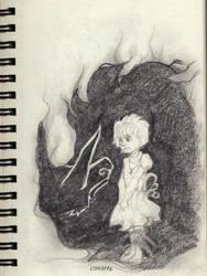  Sketchbook Page #2  Gaurdian by 0ktavian