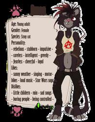 |OC Reference Sheet| Jenna |Furry|