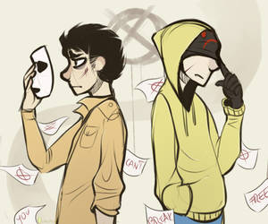 |Marble Hornets Fanart| Afterall we're just humans