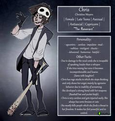 |Creepypasta OC| Chris Reference Sheet