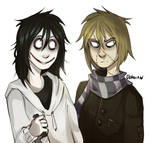 | Creepypasta Fanart| I'm not done with those two