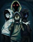 |Creepypasta| Hoodie Squad |+SPEEDPAINT|