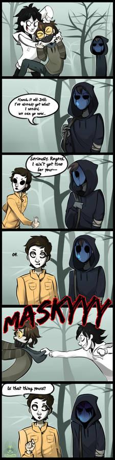 |Creepypasta Comic| Is That Yours?