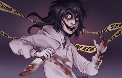 |Jeff The Killer Fanart| Crime Scene |+SPEEDPAINT