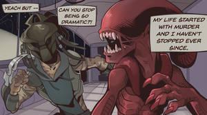 |AVP| Comic Panel - Dramatic