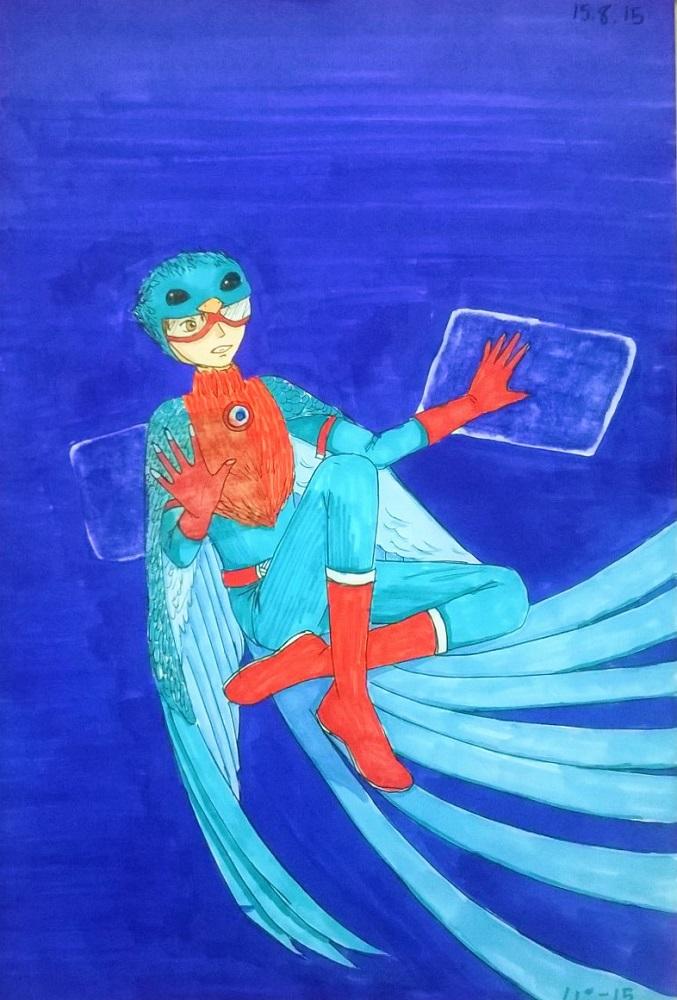 ML-OC: Bleu, fini by Tsukiko75014