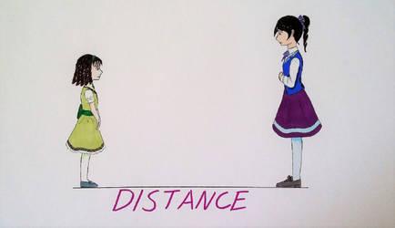 Burning Ice: Distance by Tsukiko75014