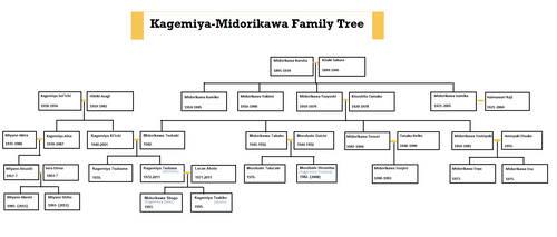 Dream or Not: Kagemiya-Midorikawa family tree by Tsukiko75014