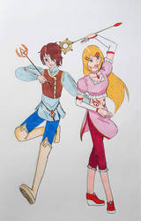 Redraw: Christel and Robin