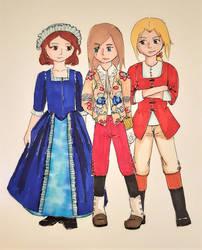 November: Inka, Elsa and Nelli