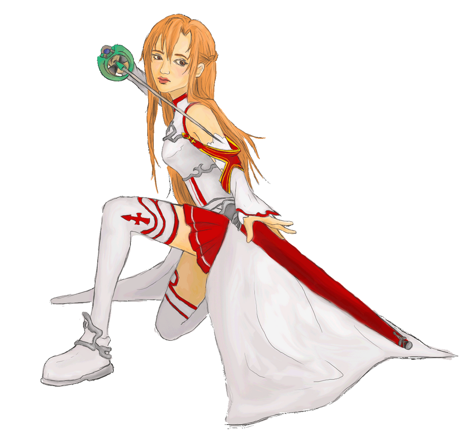 Asuna Sword Art Online by mel0mania
