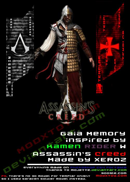 Assassin S Creed X Kamen Rider By Phakkaphol On Deviantart