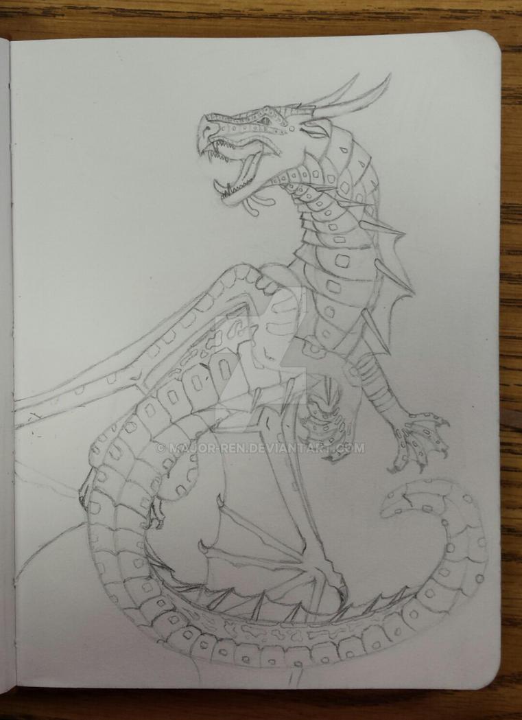 Dragon by Major-Ren