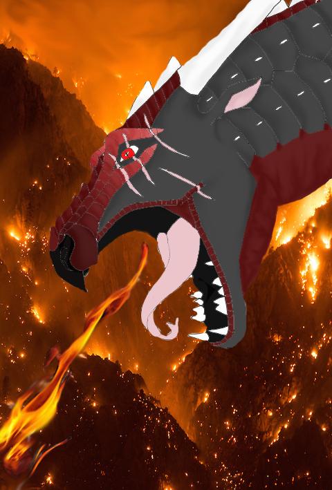 Burning by Major-Ren