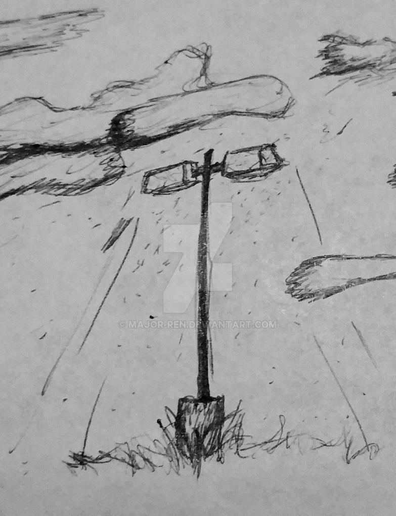 Lamppost by Major-Ren