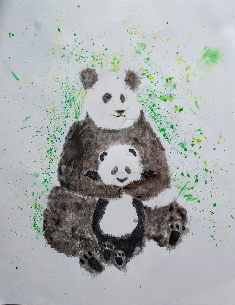 Panda by Major-Ren