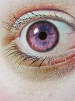 Voilet eyes by crabmuffin