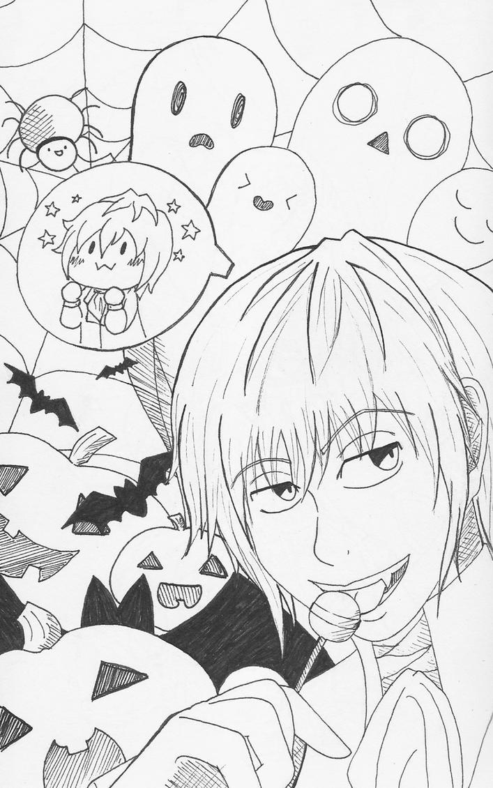 Halloween Echo by ChibiJirachi