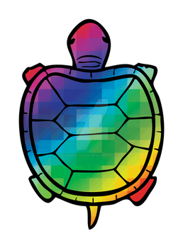 Color Swatch Turtle