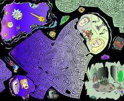 A-Maze Dimension