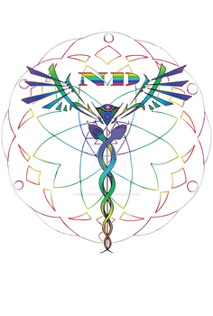 ND Caduceus Mandala