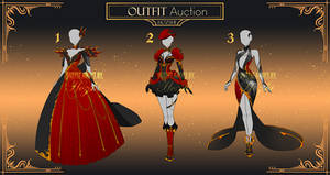 [OPEN 1/3]Adoptable Outfit Auction #2 Scarlet Set