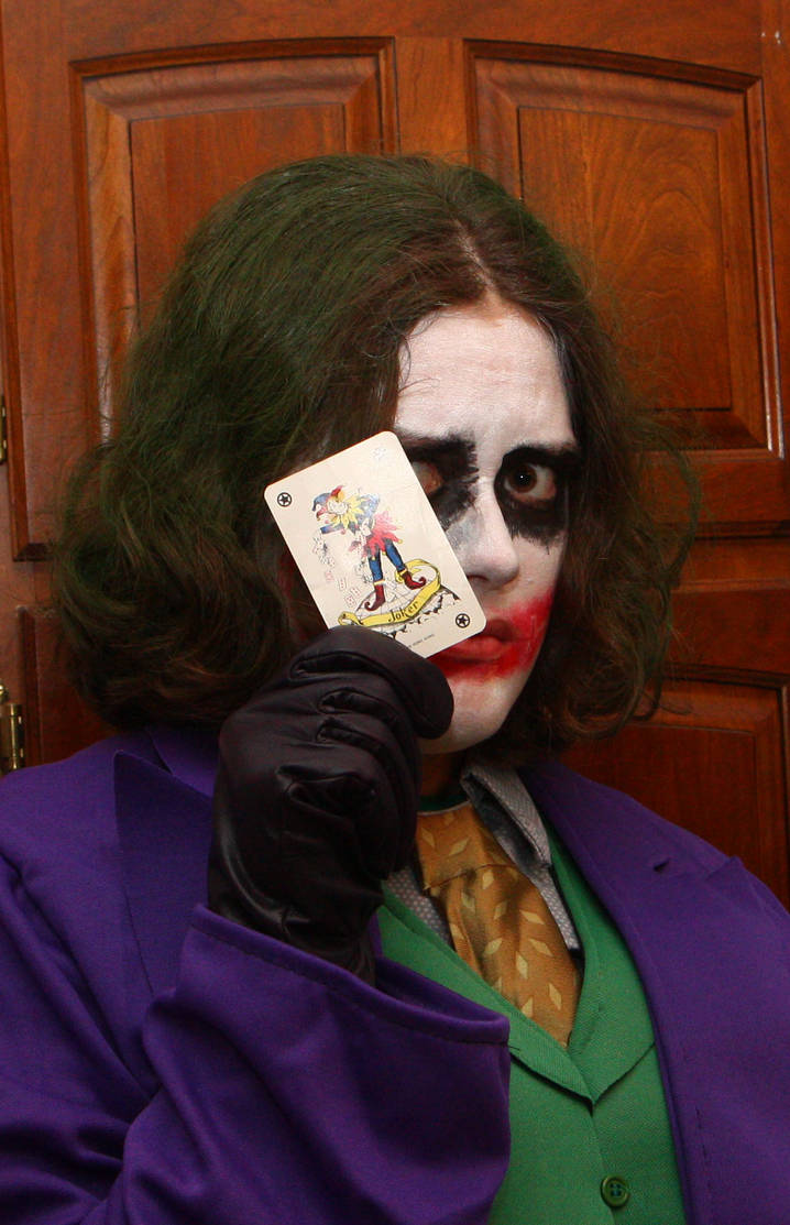 Halloween Joker Card.Halloween 2014 Heath Ledger S Joker W Card By Darkraixcresselia
