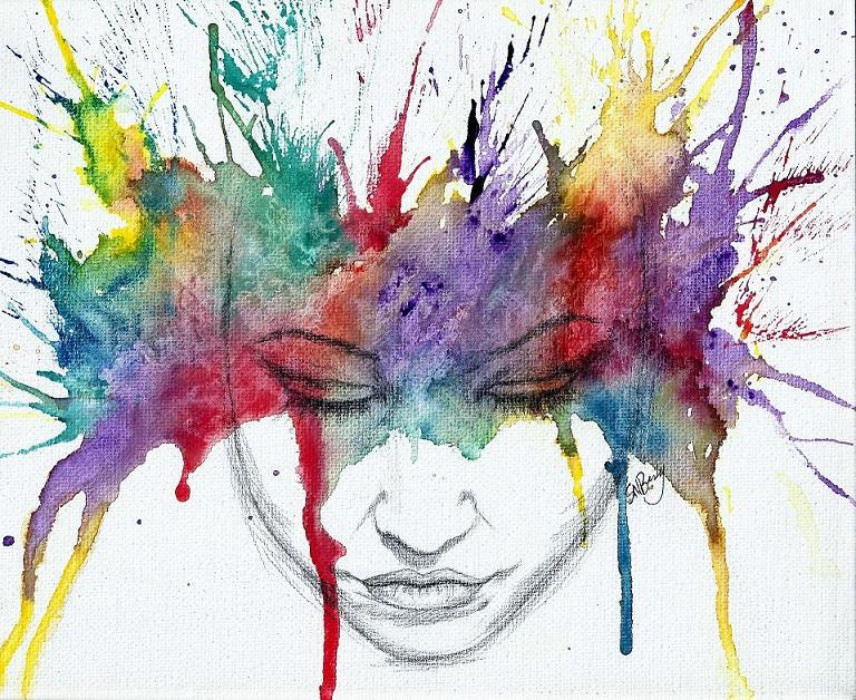 Rainbow Reverie by whimandwonder