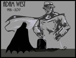 RIP Adam West by shankRV