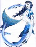 Barracuda mermaid