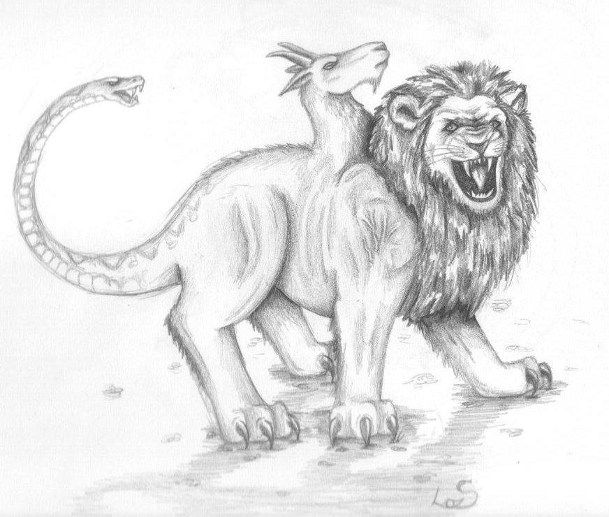 Mythical Creatures: Chimera by zepheenia on DeviantArt