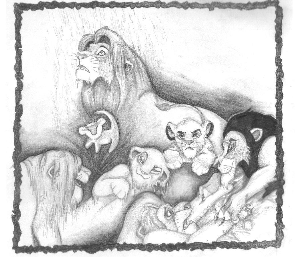 Uncategorized Drawing Lion King tribute to the lion king by zepheenia on deviantart zepheenia