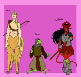 Girl Gang Line Up