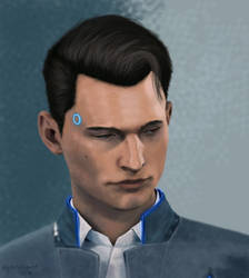 Connor RK800 by mysterythought