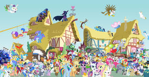 MLP: FiM Epic Group Picture