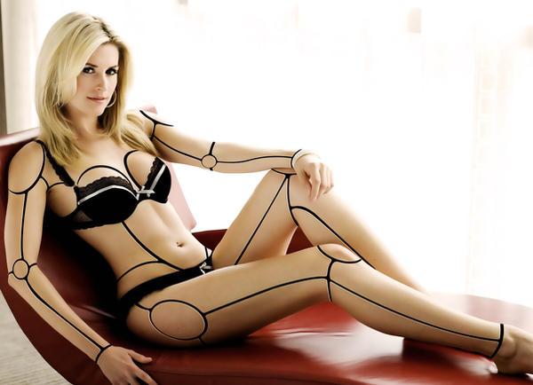 Cyborg Model by heavenideas