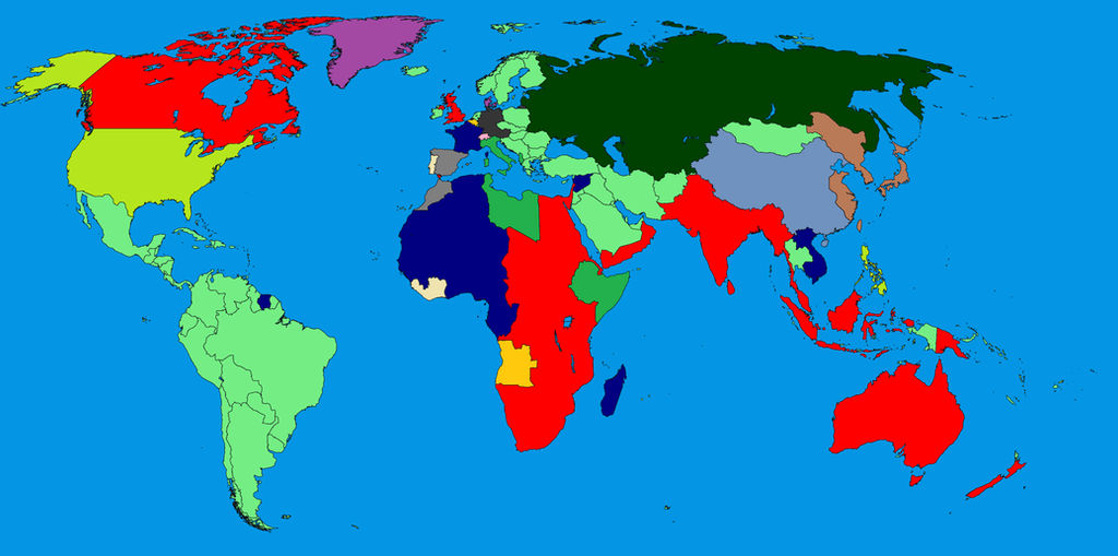 Map Of The World 1939 by british-empire-ball4 on DeviantArt