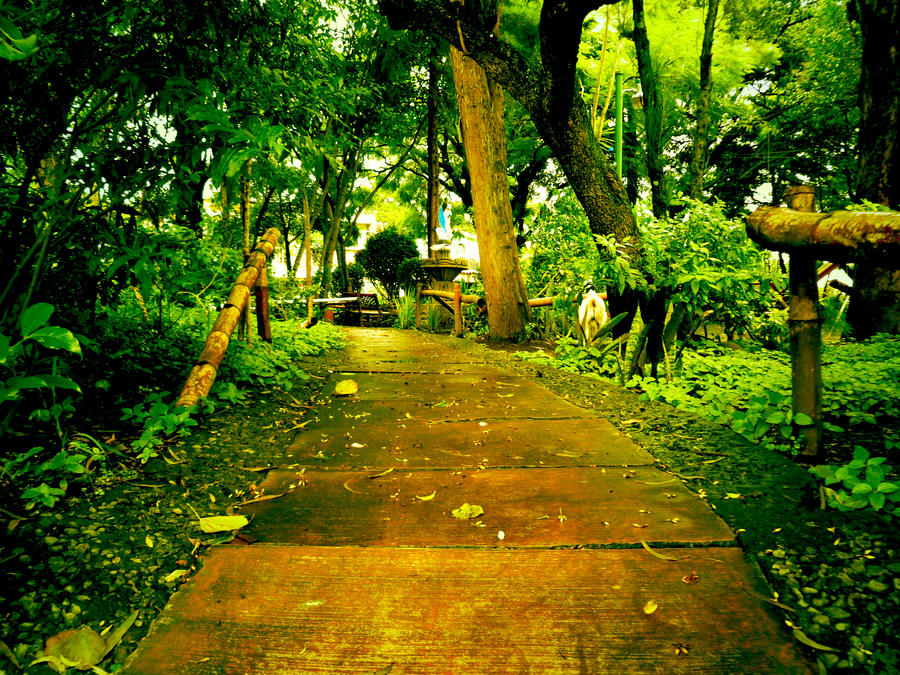 Green Path by harydas