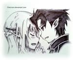Kirito and Asuna (ALF)
