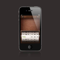 iPhone Date Picker