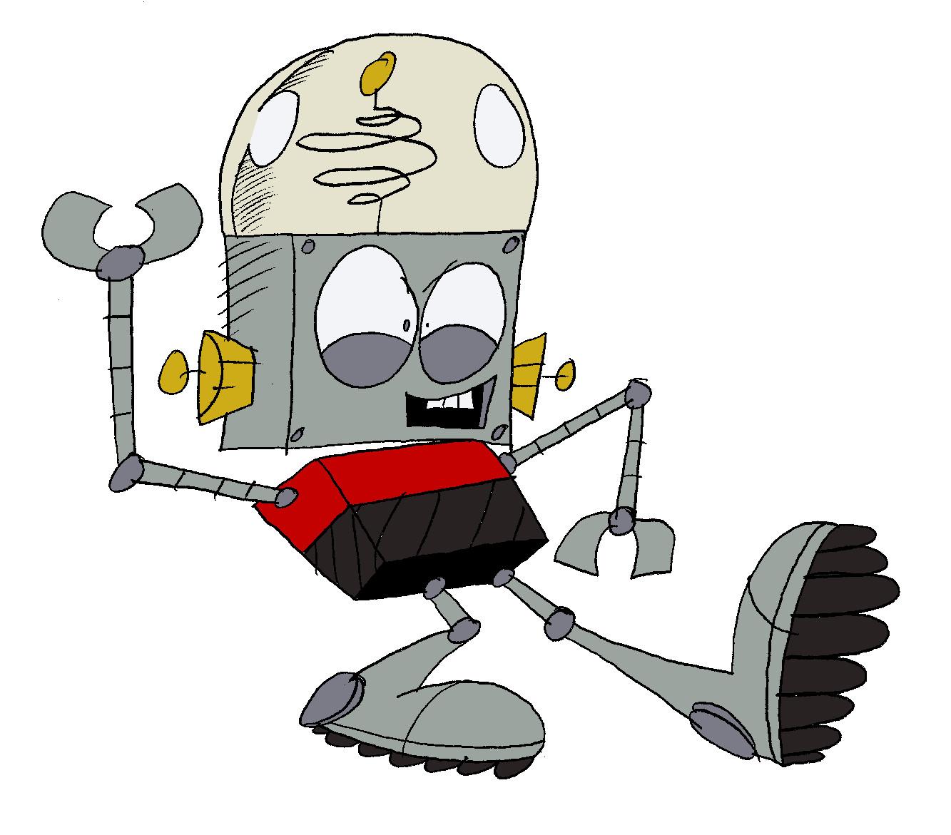 Robot Jones by Bigfatloser86 on DeviantArt