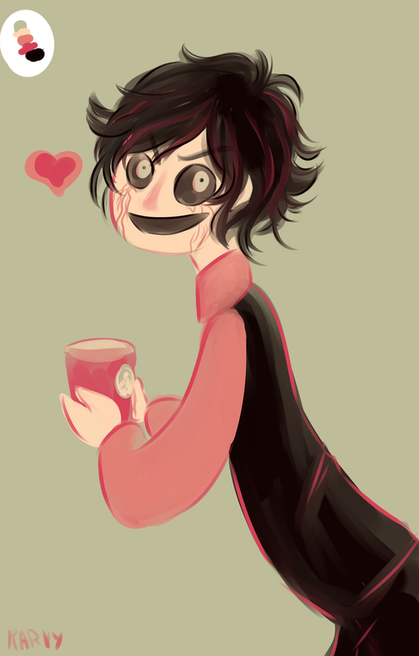 A Cute Walter With Starbucks Coffee By Marvyanaka
