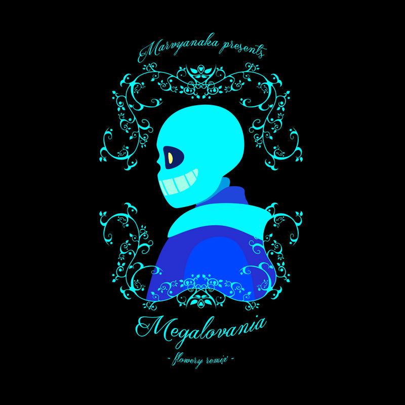 MEGALOVANIA - flowery remix - cover art by marvyanaka on