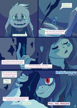 Undertale comic - Hellflowers - 01