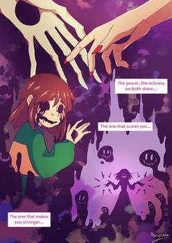 Undertale comic - Hellflowers - 59