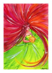 blooming queen by marvyanaka