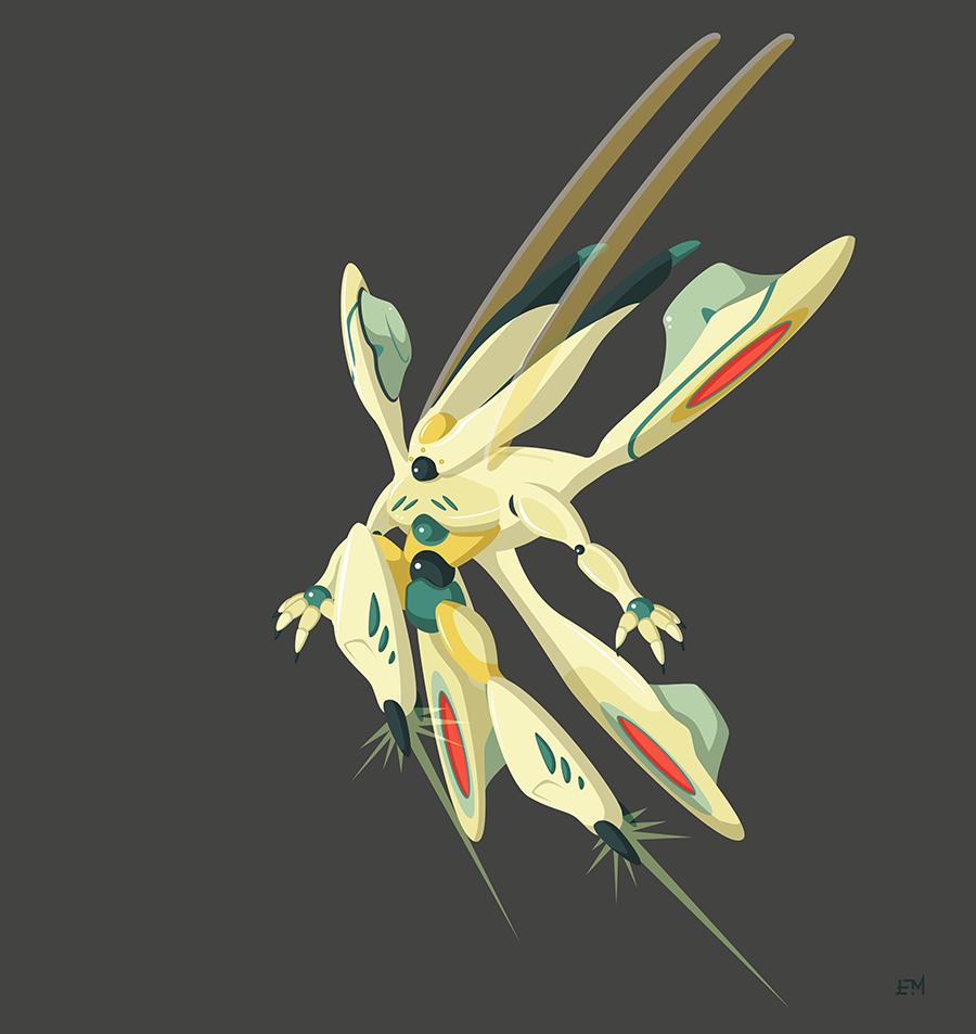 Yellow Mech by Cliffjumper78