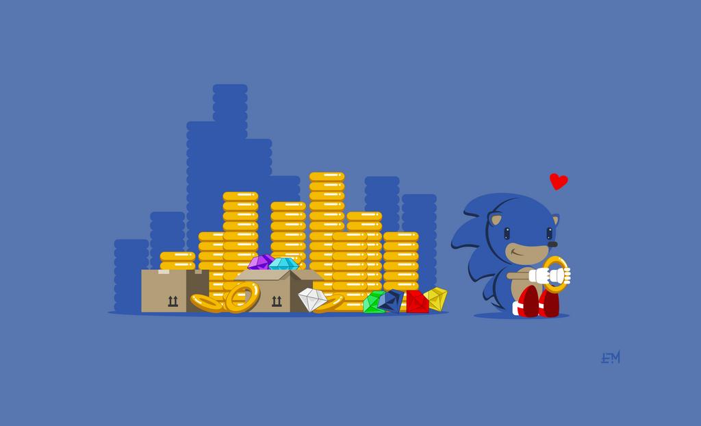 Sonic Hoarders by Cliffjumper78